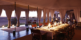 San Camp - Robert Mark Safaris - Luxury African Safaris